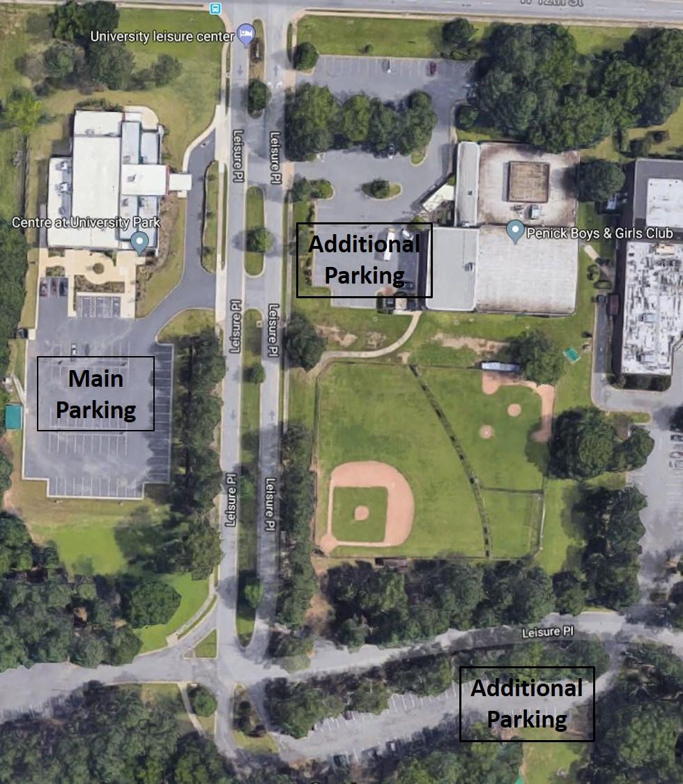 Drain Smart Event Parking Map